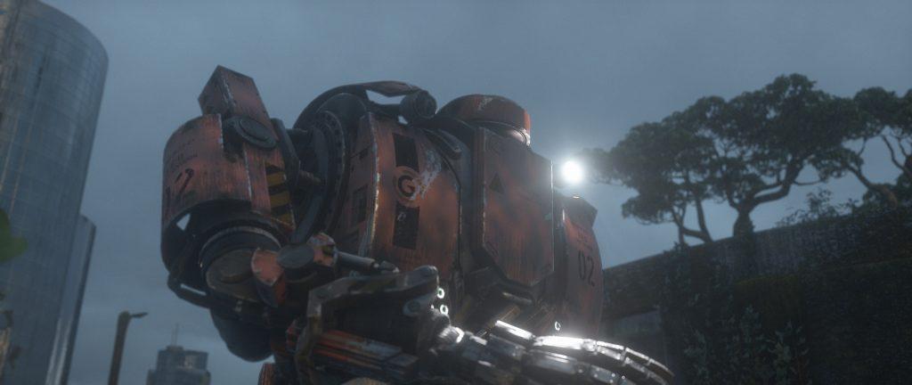 玩家所控制的主人公,也就是通过它的视角展示的未来世界